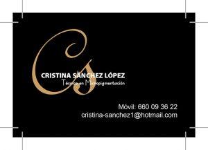 imprimir 300x217 - Diseño logotipo Cristina Sánchez López Micropigmentación