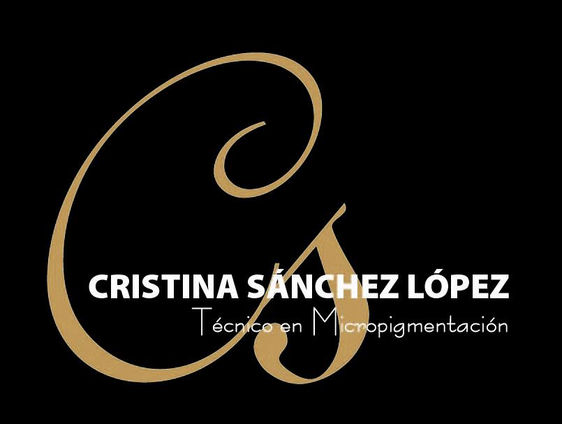print - Diseño logotipo Cristina Sánchez López Micropigmentación